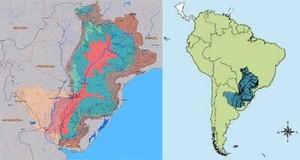 Mappa Acqua America Latina da Selvas