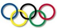 Il simbolo delle olimpiadi, cinque anelli per cinque continenti