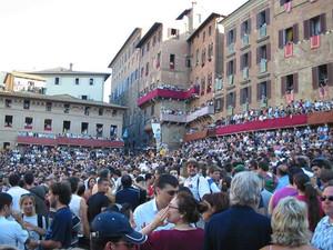 palio di Siena Immagine da archivio Google
