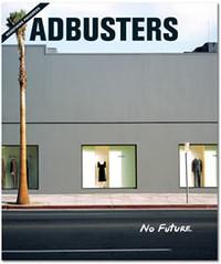"""Copertina del mensile """" Adbusters"""""""