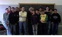 Padre Kizito nell'Istituto Righi di Taranto