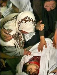 I medici riferiscono che Iman al-Hams è stata colpita da almeno 20 proiettili