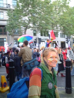 Manifestazione conclusiva del Forum Sociale Europeo - Londra
