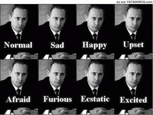 "I ""mille"" volti di Putin"