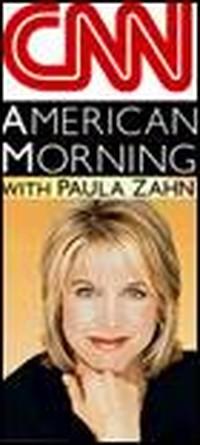 Logo Cnn e foto Paula Zahn
