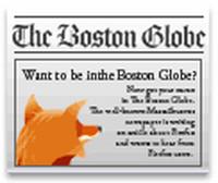 Publicità di FireFox sul Boston Globe?