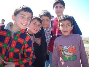 Ragazzini curdi
