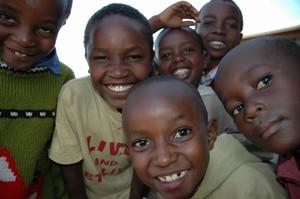 I bambini ospitati a Kivuli a Nairobi (Kenya)