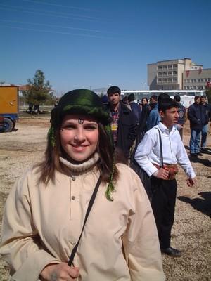 Ragazza curda
