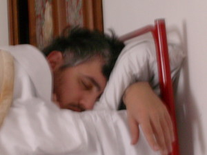 Il creatore di PhPeace, Francesco Iannuzzelli, si riposa.