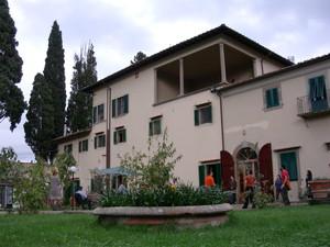 La Casa per la Pace di Tavarnuzze, un luogo bellissimo e ospitale, dove si è tenuto l'incontro dei peacelinkers.
