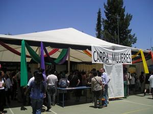 Foro Sociale Cileno: Tenda delle donne