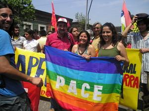 Foro Sociale Cileno: Bandiera della pace