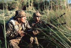 cacciatori in azione