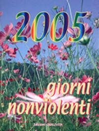 Copertina Giorni nonviolenti 2005