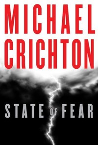 copertina dell'ultimo libro di Crichton