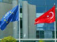 Bandiere della Turchia e dell'UE