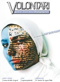 """Copertina """"Volontari per lo Sviluppo"""" - Novembre 2004"""