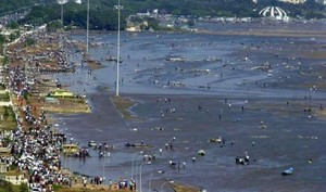 Maremoto in India