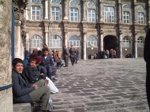 Interno della Moschea di Diyarbakir