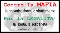 Da Milano a Palermo adesivi contro la mafia