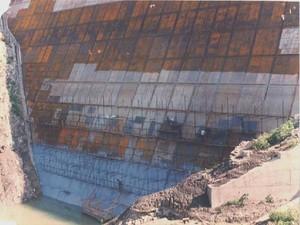 La costruzione di una diga