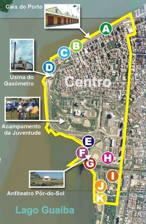 mappa del FSM