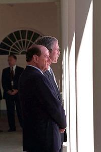 Bush & Berlusconi