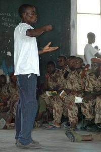 Corso di prevenzione AIDS nelle caserme del Mozambico