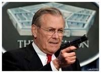 Il capo del Pentagono Donald Rumsfeld