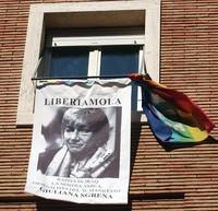 Presidio sabato per la liberazione di Giuliana Sgrena, davanti alla Prefettura di Taranto
