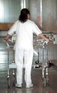 Infermieri in ospedale.