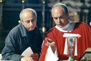 Il regista e Luca Zingaretti