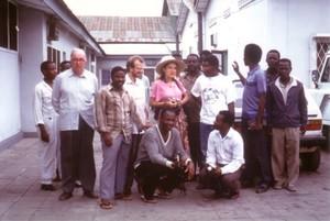 Chiara Castellani a Kenge (Congo)