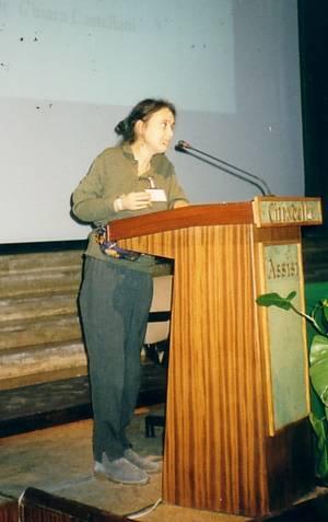 Chiara Castellani ad Assisi