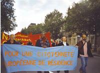 """MFE: primo sciopero """"europeo"""" degli stranieri per una cittadinanza europea di residenza"""