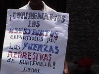 manifestazione ambasciata guatemala