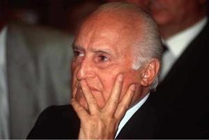 Oscar Luigi Scalfaro.
