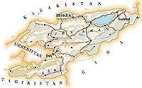 I bolscevichi di Bush scuotono il Kirzichistan