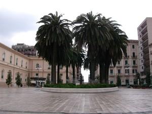 Piazza Immacolata, centro di Taranto