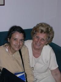 Chiara Castellani con Mariapia Bonanate