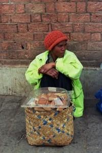 la venditrice di pane
