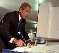 Bush: l'email mi tradirebbe