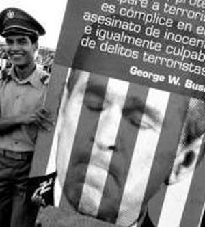 la manifestazione a L'Avana