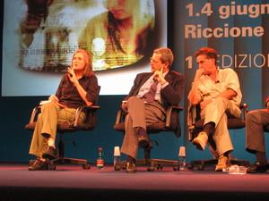 Amy Goodman (Democracy Now), Roberto Morrione (direttore Rai News 24), Giovanni Maria Bellu (Repubblica)