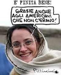 Clementina Cantoni libera: la vignetta di Pillinini