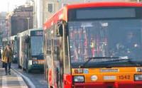 autobus in città