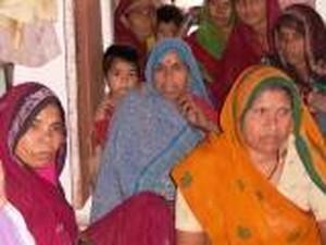 Chanderi, riunione di gruppo