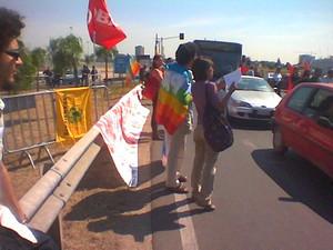 Manifestazione pacifista. Il 25 giuno 2004 viene inaugurata la nuova base navale dopo 15 anni di lavori. Il 19 aprile del 1989, alla presenza del Ministro della Difesa del tempo Giovanni Spadolini, vi