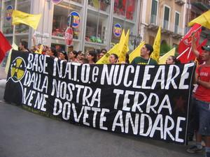 Manifestazione antinucleare a Taranto del 26 giugno